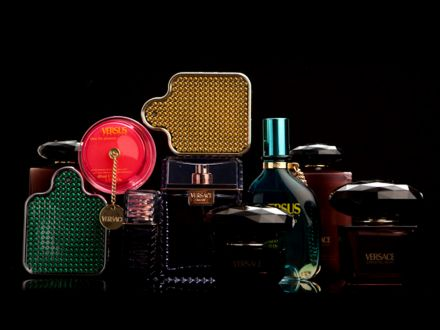 Versace Fragrance & Beauty Product Packaging