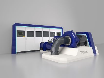 voith - wasserkraft - industriedesign