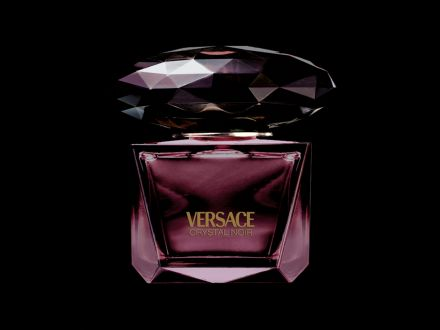 Versace Crystal Noir - Perfumeflask - product design by Tino Valentinitsch