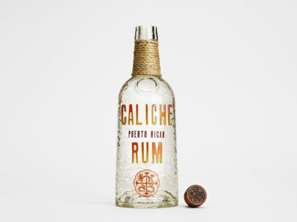 Caliche Rum - Rum Bottle - productdesign