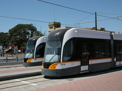Bombardier Tram Alicante transportation design wien