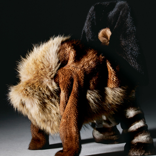 Fur now - fashion design